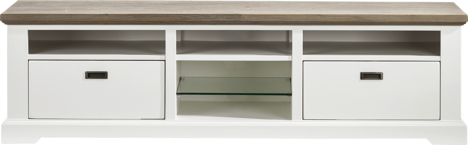 Mallorca - tv-dressoir 2-manden + 5-niches - 180 cm
