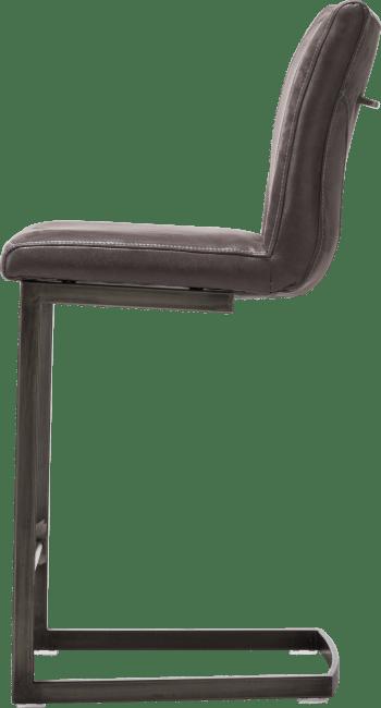 Sono - barstoel - zwart swing recht - greep recht
