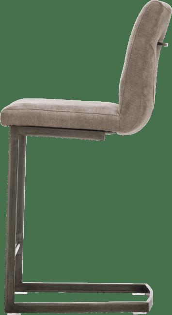 Sofie - barstoel - vintage metaal swing recht + greep