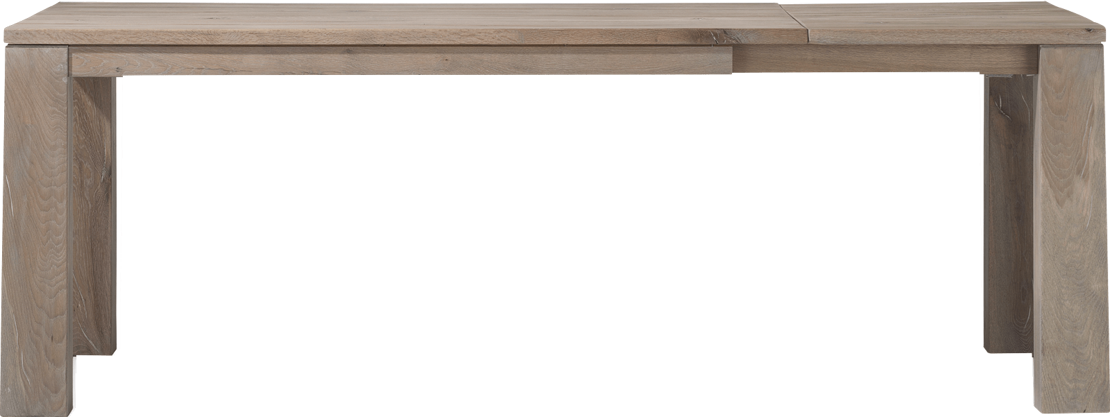 Masters - uitschuiftafel 160 (+ 60) x 90 cm - hout 9x9