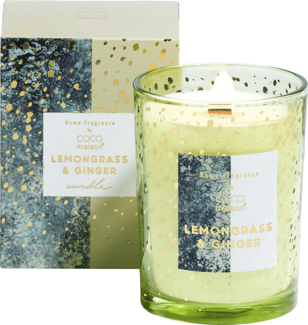 Coco Maison - geurkaars lemongrass & ginger