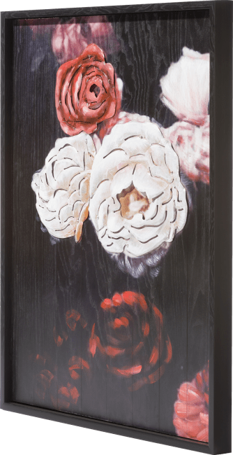 Coco Maison - schilderij antique rose - 73 x 90 cm