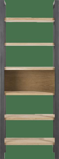 Larissa - boekenkast 70 cm - 6-niches