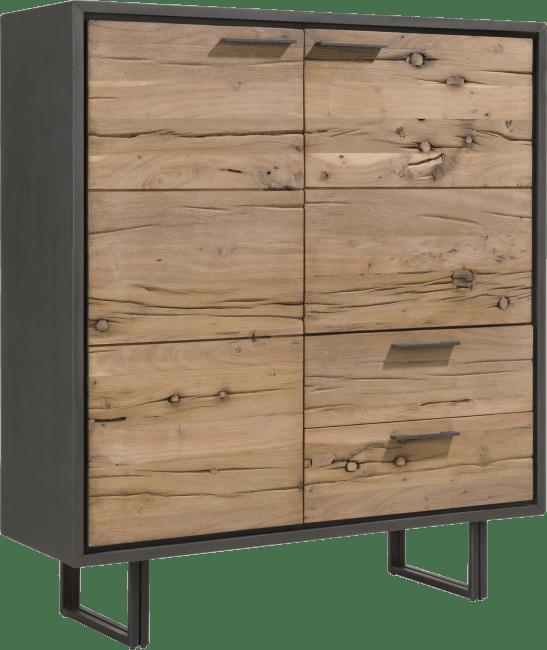 Cladio - highboard 125 cm - 2-deuren + 2-laden