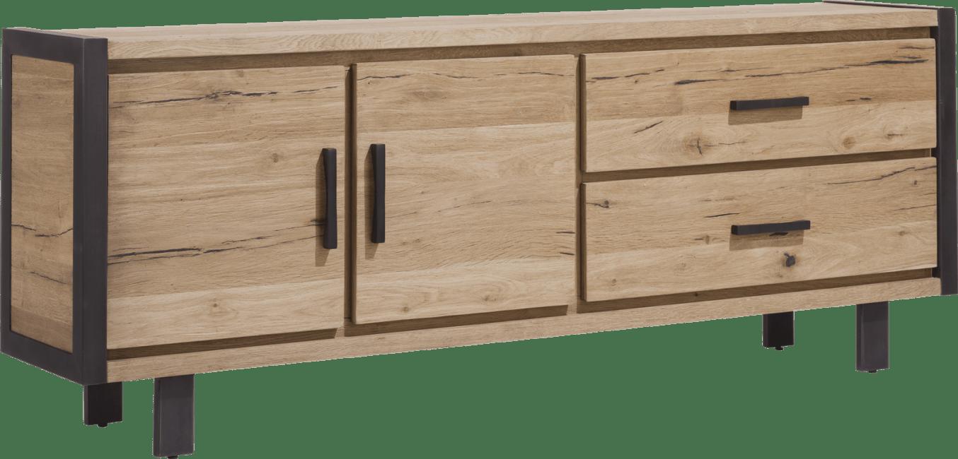 Brooklyn - dressoir 210 cm - 2-deuren + 2-laden