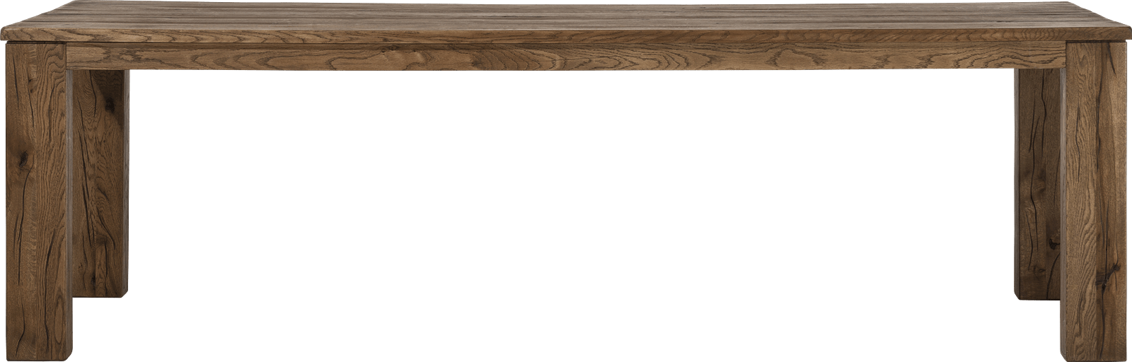 Masters - eetkamertafel 260 x 100 -hout 12x12/10x14