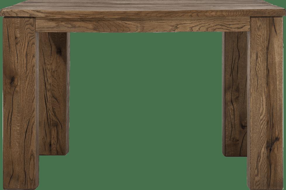 Masters - eetkamertafel 120 x 70 cm - hout 12x12/10x14