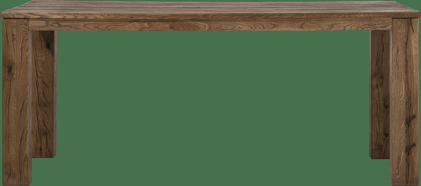 Masters - bartafel 220 x 100 cm - hout 12x12/10x14