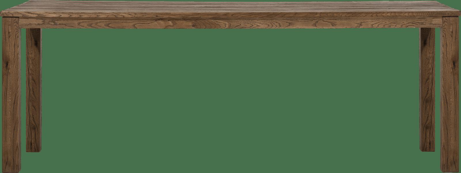 Masters - bartafel 260 x 100 cm - hout 9x9