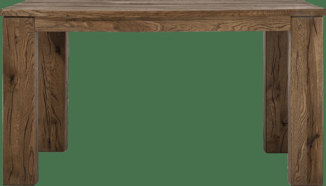 Masters - eetkamertafel 140 x 70 cm - hout 12x12/10x14