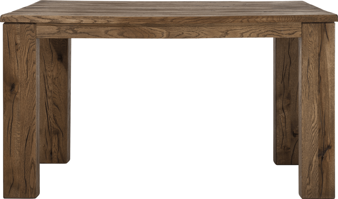 Masters - eetkamertafel 140 x 90 cm - hout 12x12/10x14