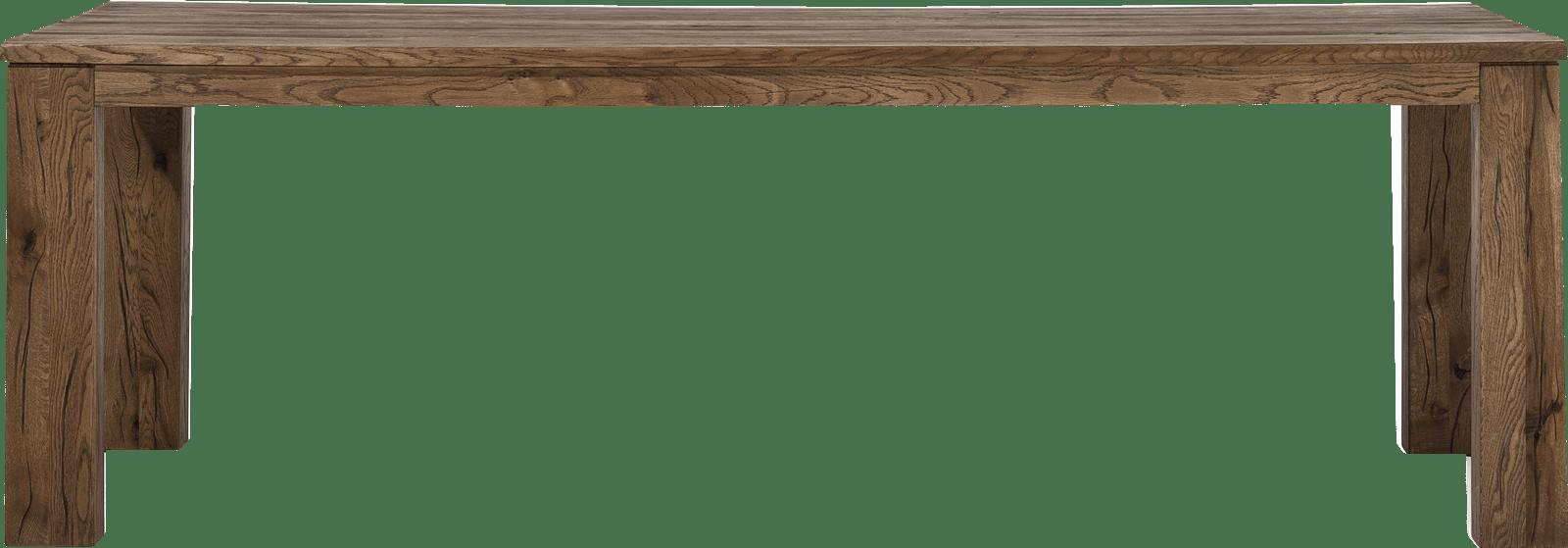 Masters - eetkamertafel 240 x 100 - hout 12x12/10x14