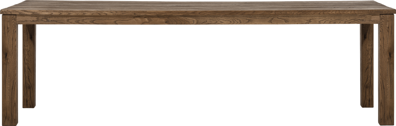 Masters - eetkamertafel 260 x 100 cm - hout 9x9