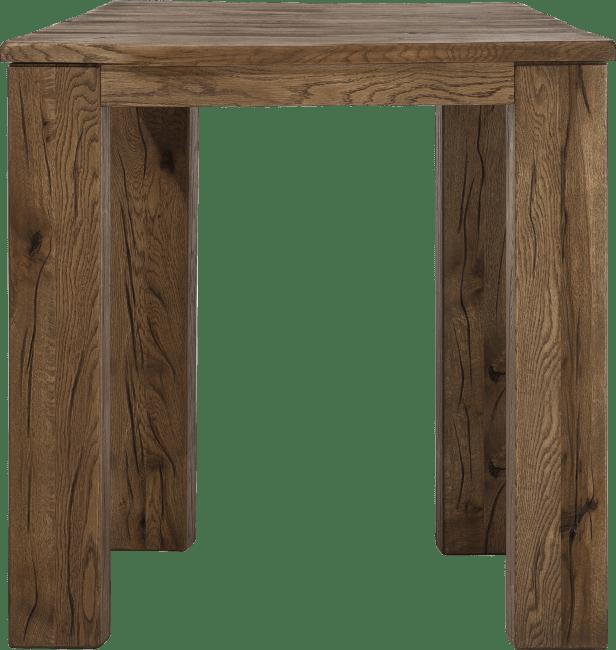 Masters - bartafel 90 x 90 cm - hout 12x12/10x14