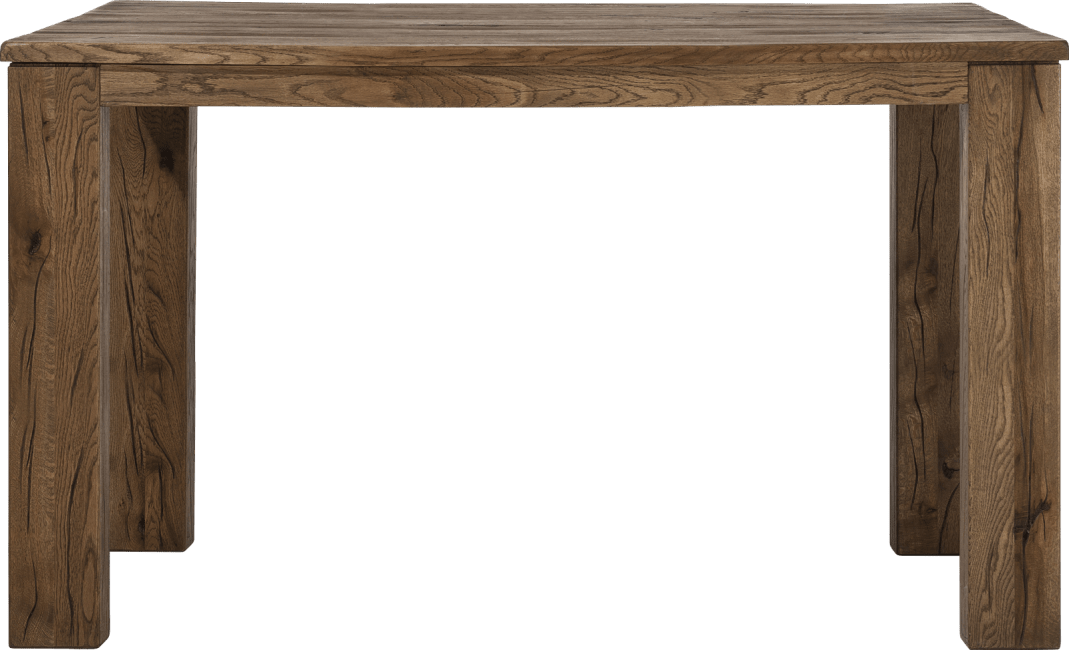 Masters - table de bar 160 x 90 cm - bois 12x12/10x14