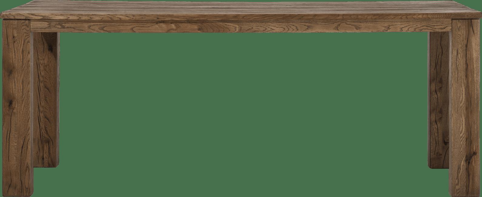 Masters - bartafel 240 x 100 cm - hout 12x12/10x14