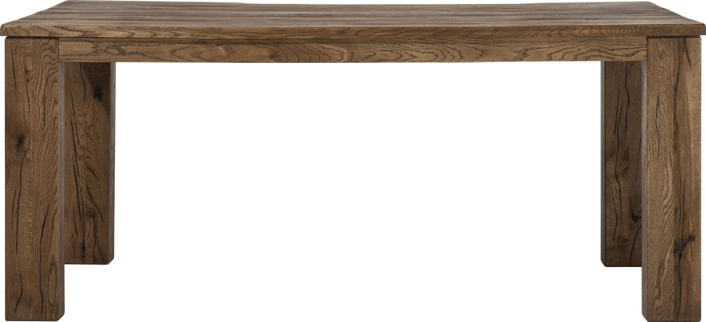 Masters - eetkamertafel 180 x 90 cm - hout 12x12/10x14
