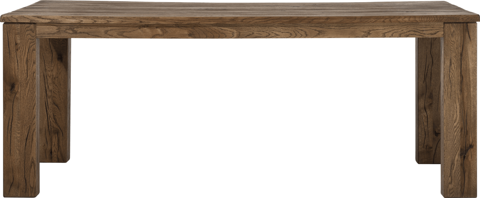 Masters - eetkamertafel 200 x 100 cm - hout 12x12/10x14