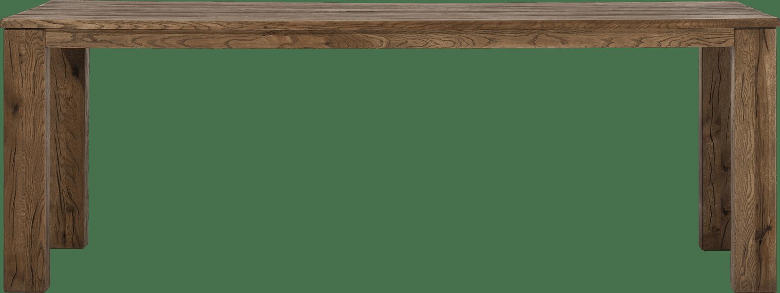 Masters - bartafel 260 x 100 cm - hout 12x12/10x14