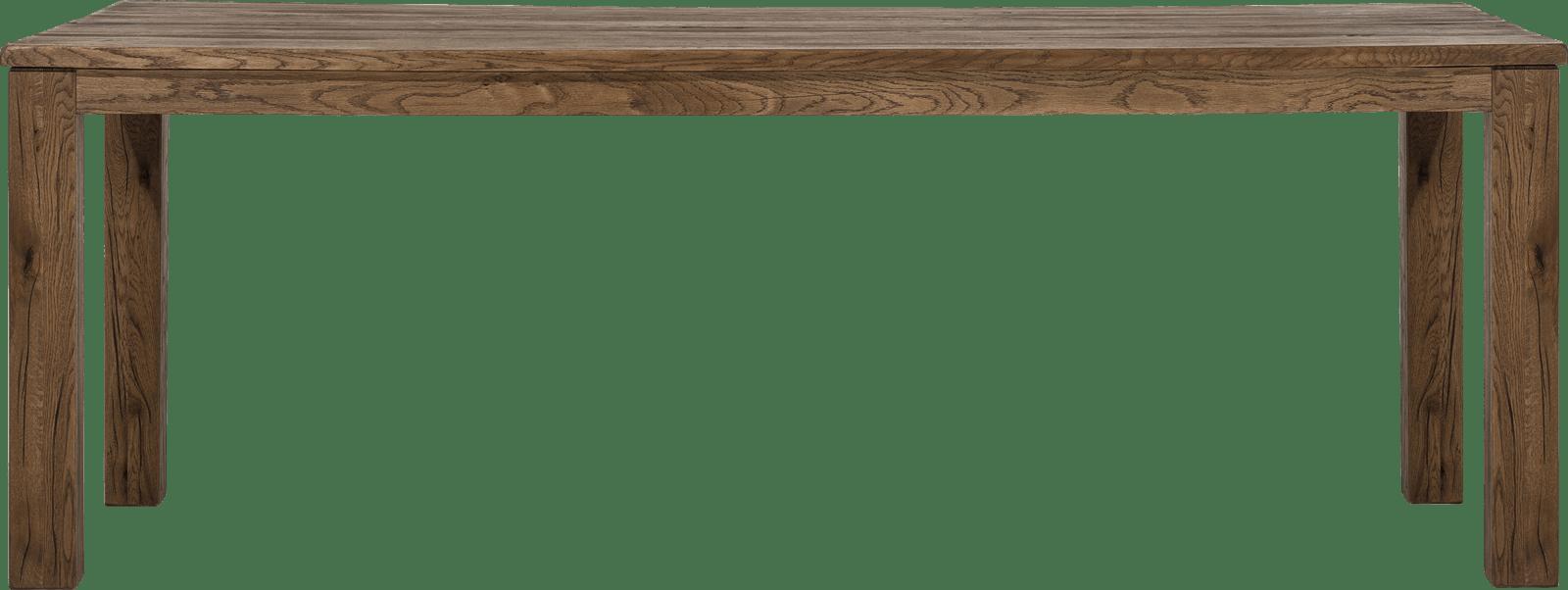 Masters - eetkamertafel 220 x 100 cm - hout 9x9