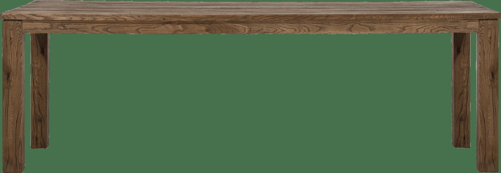 Masters - eetkamertafel 240 x 100 cm - hout 9x9