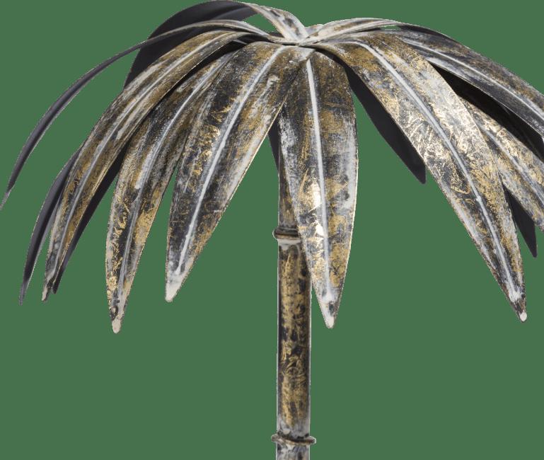 Coco Maison - sculpture palm tree large - hauteur 45 cm