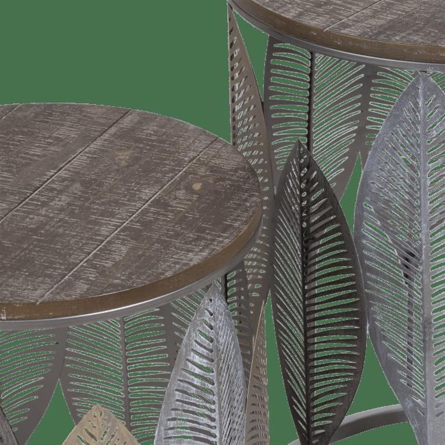Coco Maison - 2 bout de canape charles - brun