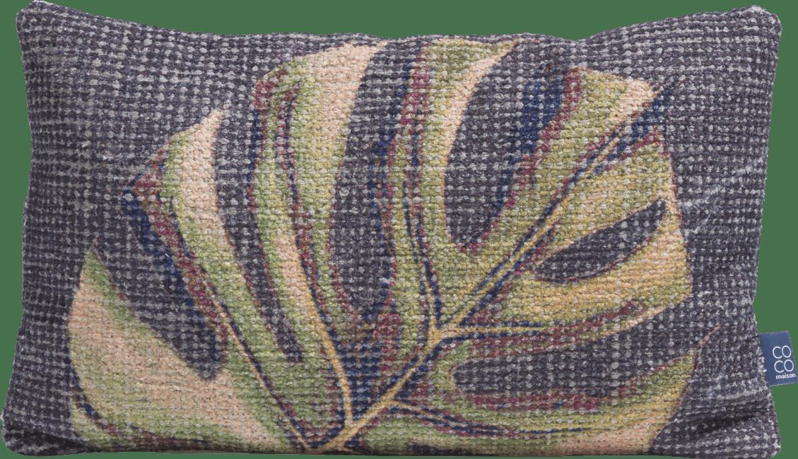 Coco Maison - cushion leafy - 30 x 50 cm
