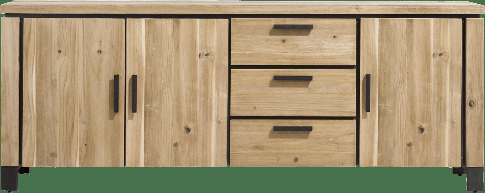 La Cruz - dressoir 220 cm - 3-deuren + 3-laden