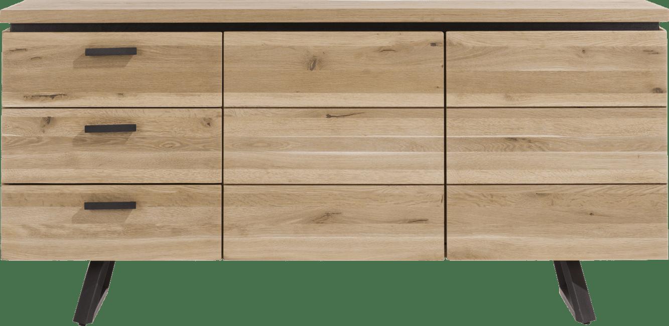 Larissa - dressoir 180 cm - 2-deuren + 3-laden