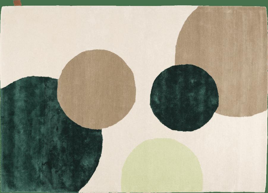 Coco Maison - karpet circle - 160 x 230 cm - 70% wol / 30% viscose