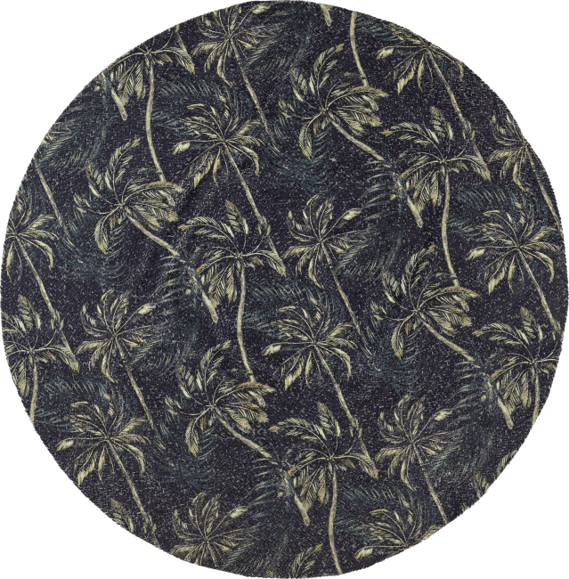 Coco Maison - tapis hawaii rond 150 cm