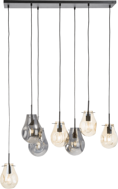 Coco Maison - charlie, hanglamp xl 7-lamps