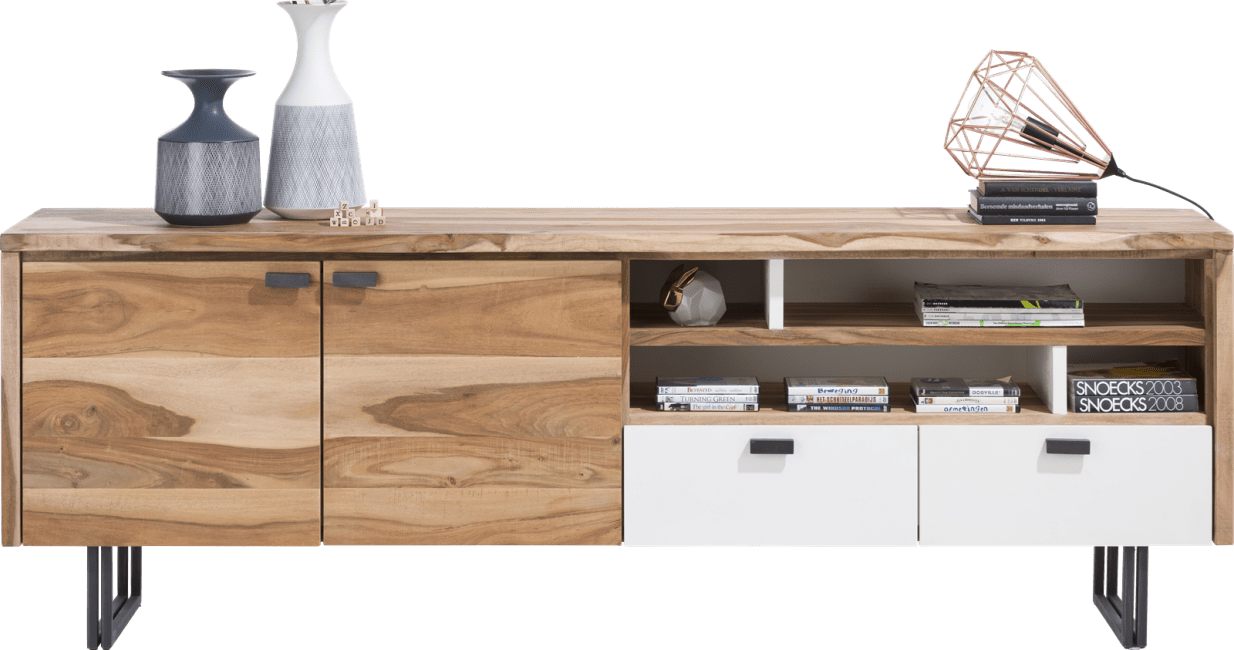 Vista - dressoir 225 cm - 2-deuren + 2-laden + 4-niches