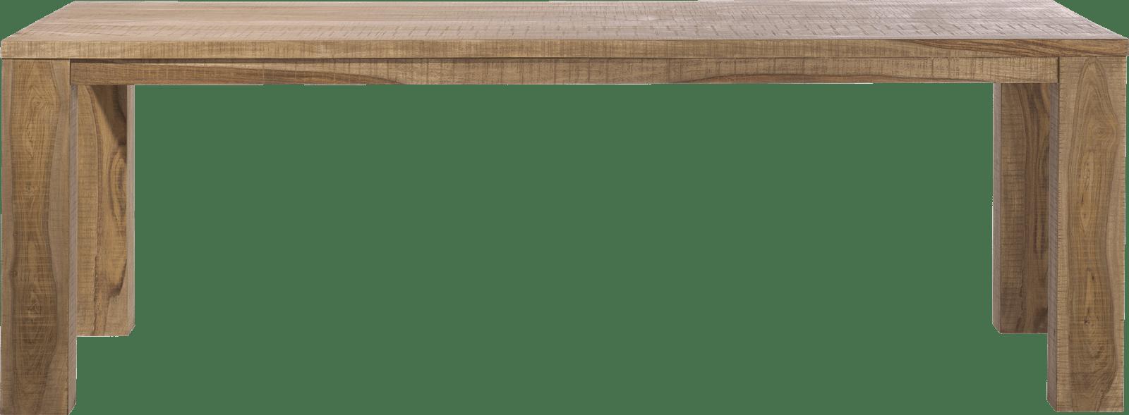 Piura - eetkamertafel - 230 x 100 cm + houten poten