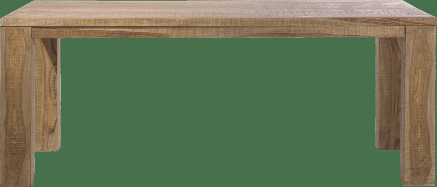 Piura - eetkamertafel - 200 x 100 cm + houten poot