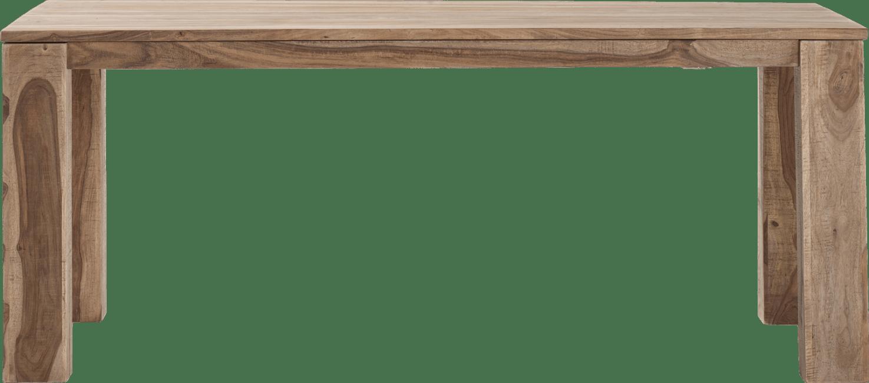 Piura - uitschuiftafel - 190 (+ 50) x 90 cm + butterfly + houten poten