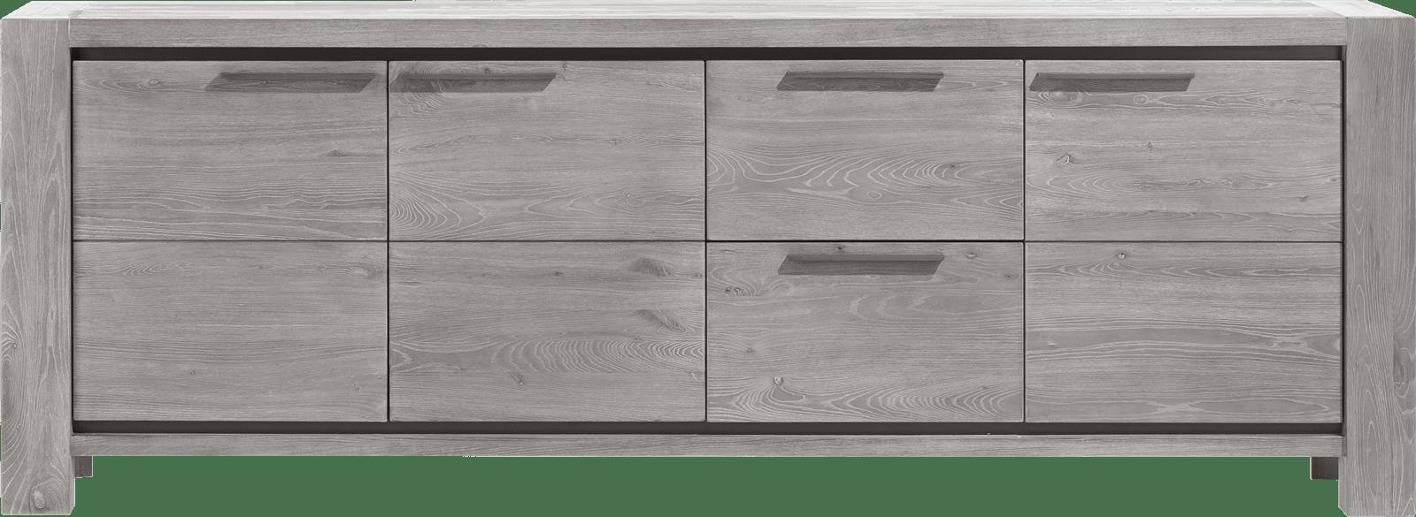 Montero - dressoir 3-deuren + 2-laden - 240 cm