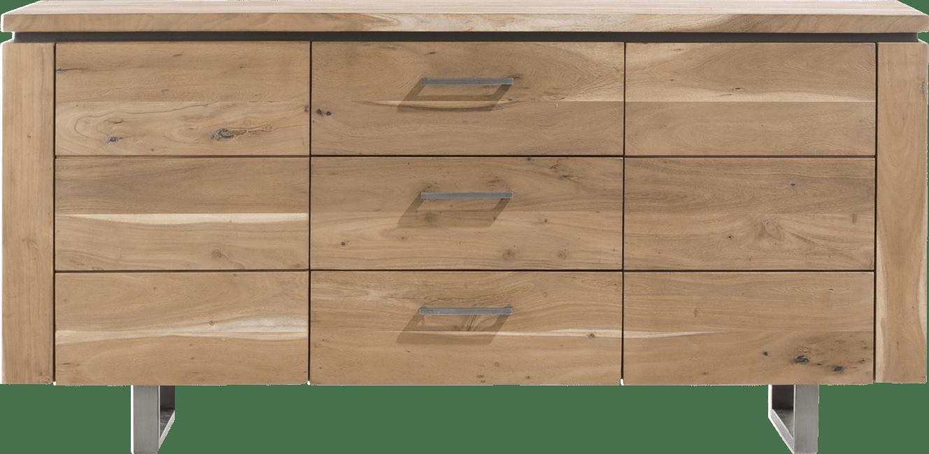 Ajezi - dressoir 180 cm - 2-deuren + 3-laden