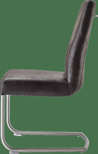 Travis - stuhl edelstahl + stoff puma