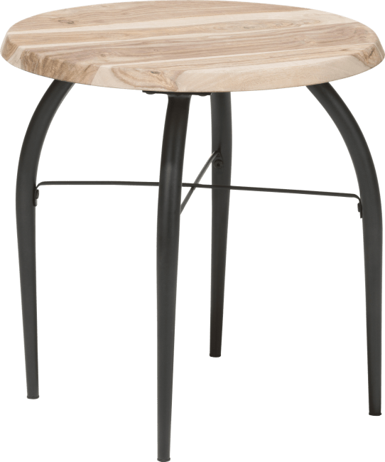 Coco Maison - table d'appoint lucknow - rond 45 cm