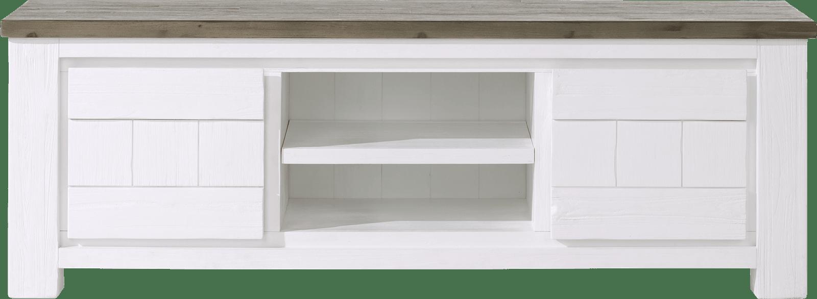 Deaumain - tv-dressoir 2-deuren + 2-niches - 160 cm