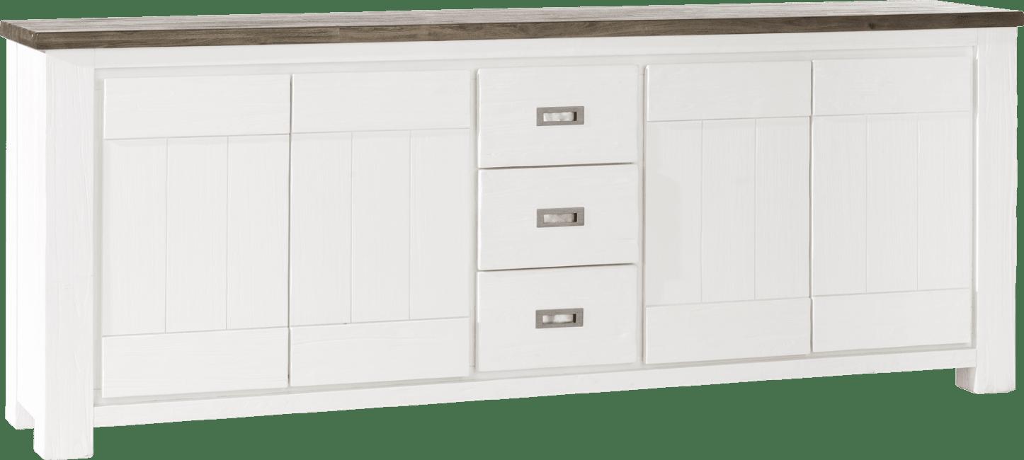 Deaumain - dressoir 4-deuren + 3-laden - 220 cm