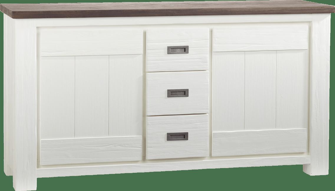Deaumain - onderkast buffet / dressoir 2-deuren + 3-laden - 160 cm