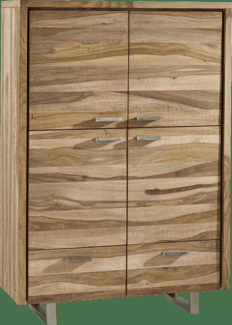 Piura - bergkast 111 cm - 4-deuren + 2-laden