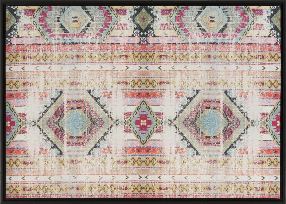 Coco Maison - decoration murale antique rug - 74 x 104 cm - print