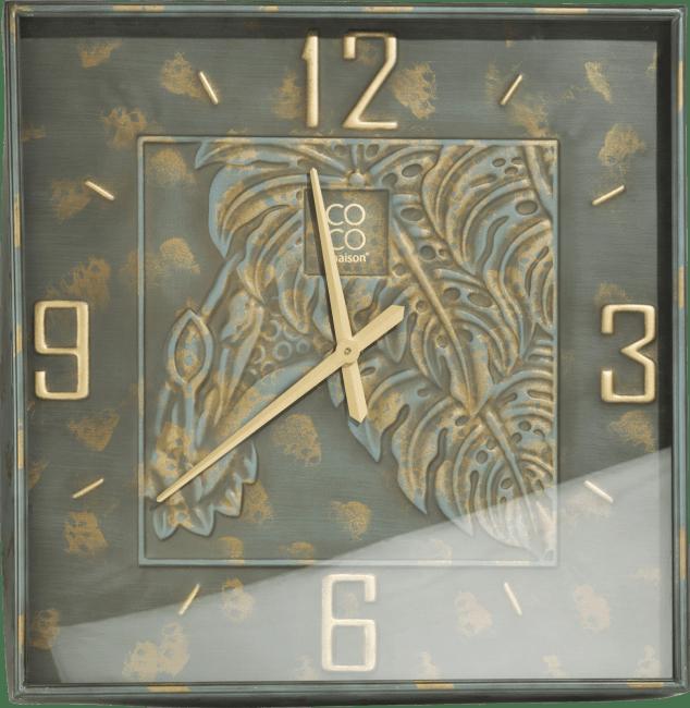 Coco Maison - horloge norma carre - 72 x 72 cm