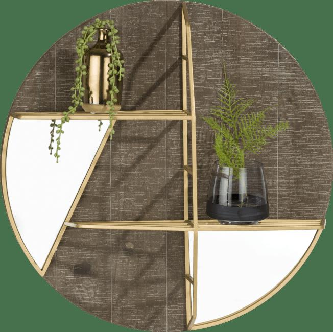 Coco Maison - einlegeboden & spiegel amy - durchmesser 55 cm