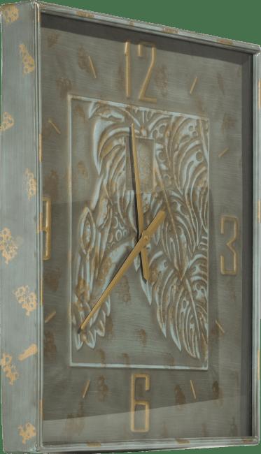 Coco Maison - wandklok norma vierkant - 72 x 72 cm