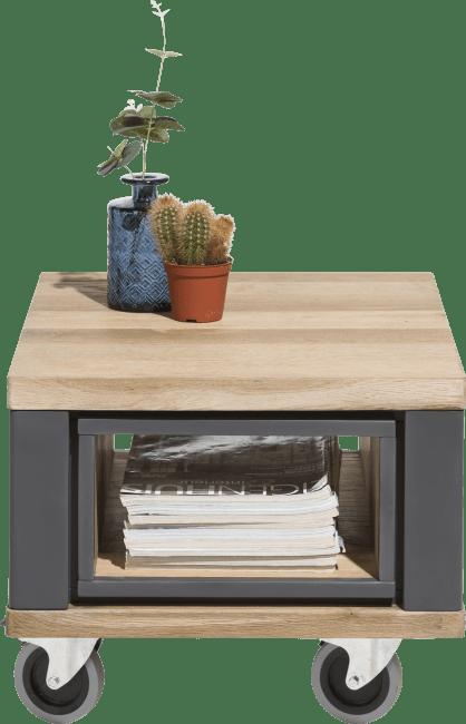 Jardin - table d'appoint 60 x 50 cm + 1-niche
